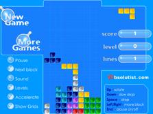 Blue Tetris